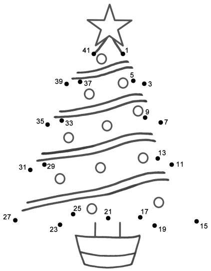christmas dot to dot printables 20