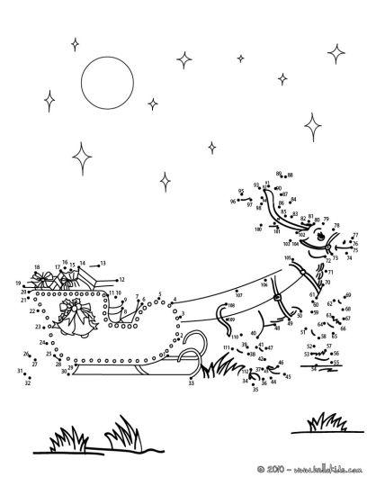 christmas dot to dot printables 3