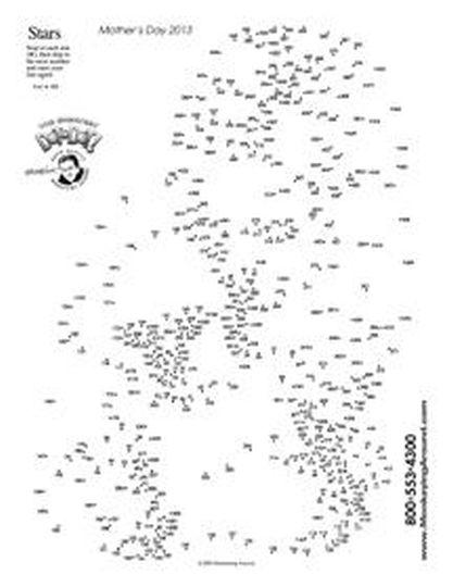 christmas dot to dot printables 33