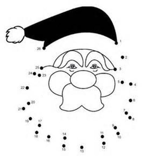 christmas dot to dot printables 41