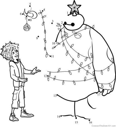 christmas dot to dot printables 44