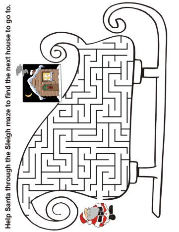 Christmas maze for kids 17