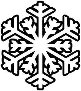 Christmas Snowflakes Clipart 11