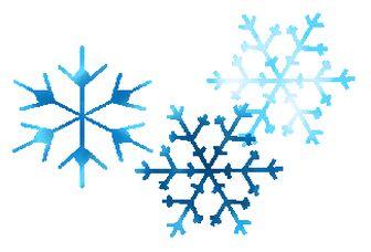 Christmas Snowflakes Clipart 12