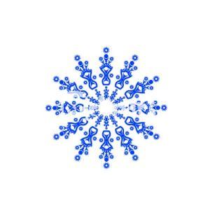 Christmas Snowflakes Clipart 14