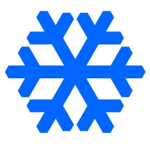 Christmas Snowflakes Clipart 17