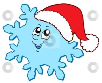 Christmas Snowflakes Clipart 18