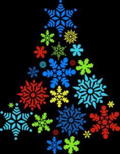 Christmas Snowflakes Clipart 19