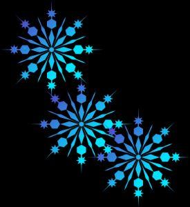 Christmas Snowflakes Clipart 2