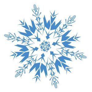 Christmas Snowflakes Clipart 3