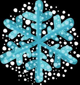 Christmas Snowflakes Clipart 4