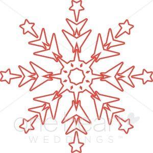 Christmas Snowflakes Clipart 5