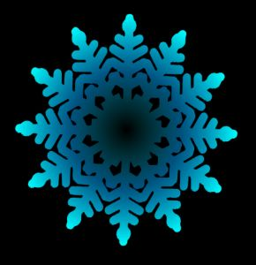 Christmas Snowflakes Clipart 6