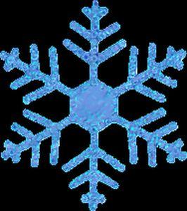 Christmas Snowflakes Clipart 7