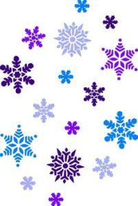 Christmas Snowflakes Clipart 9