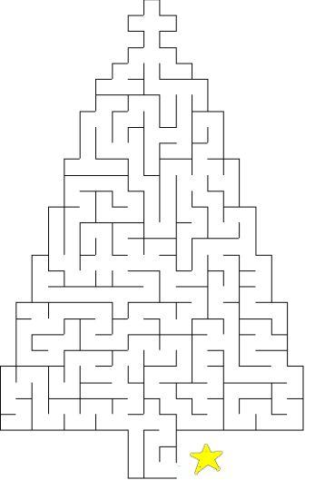 christmas tree maze 13