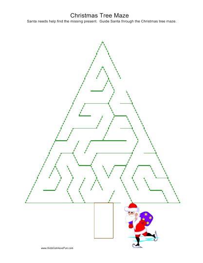 christmas tree maze 2
