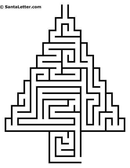 christmas tree maze 3