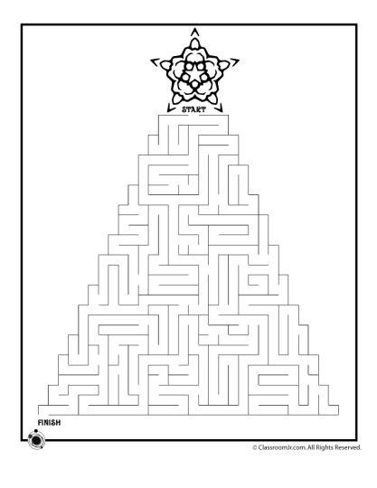 christmas tree maze 5