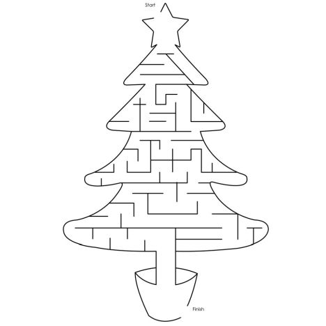christmas tree maze 9