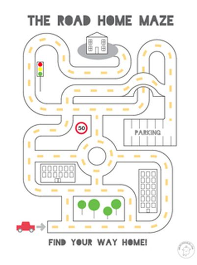 printable mazes for 5 year olds 10