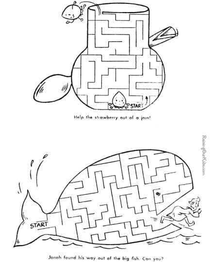 printable mazes for 5 year olds 11