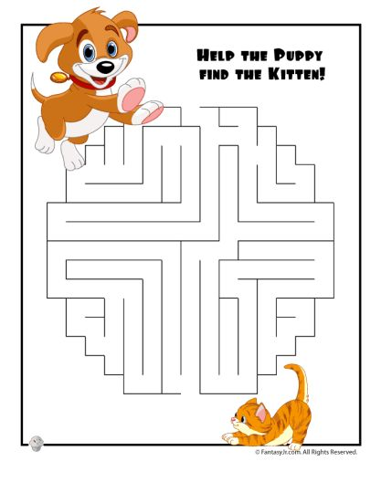 printable mazes for 5 year olds 4