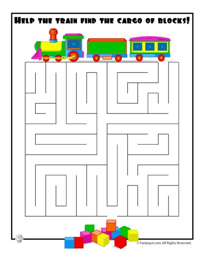 printable mazes for 5 year olds 5