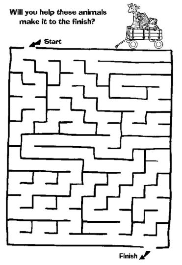 printable mazes for 5 year olds 6