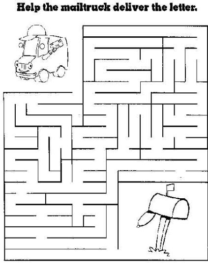printable mazes for 5 year olds 8