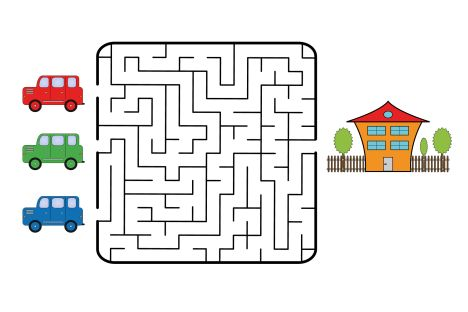printable mazes for 5 year olds 9
