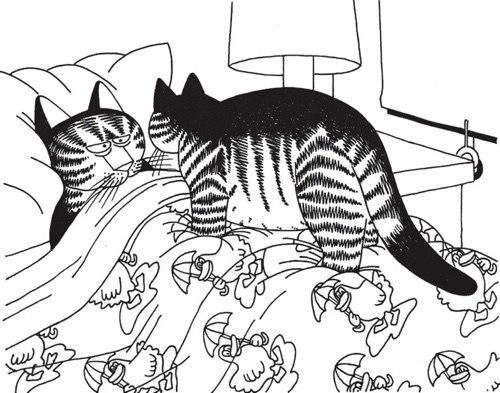 Cat Coloring Pages For Adults 32