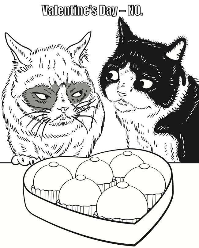 Cat Coloring Pages For Adults 44