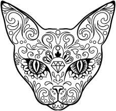 Cat Coloring Pages For Adults 62