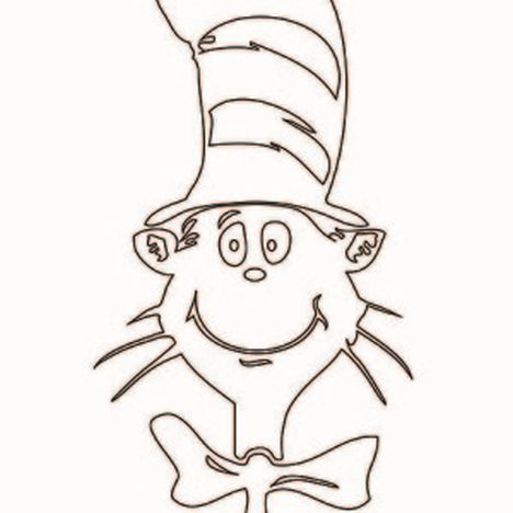 Cat In The Hat Coloring Pages 10