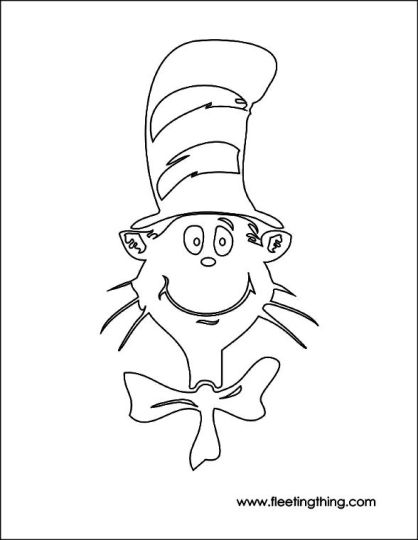 Cat In The Hat Coloring Pages 16
