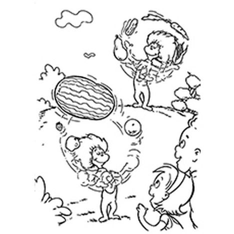Cat In The Hat Coloring Pages 20