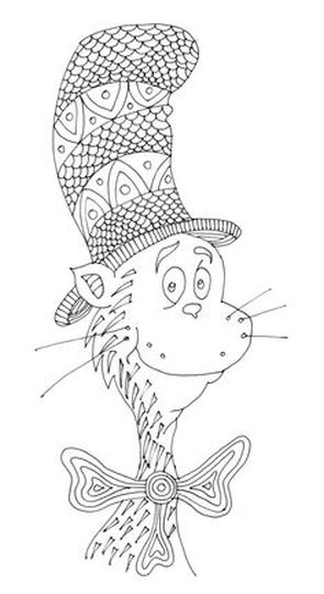 Cat In The Hat Coloring Pages 21