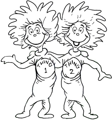 Cat In The Hat Coloring Pages 24