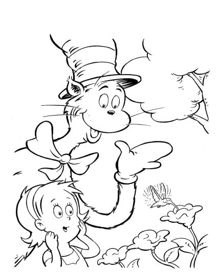 Cat In The Hat Coloring Pages 26