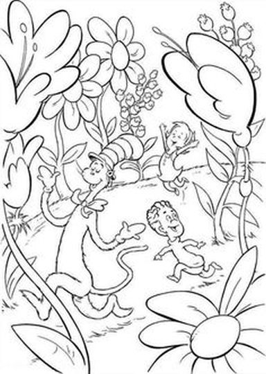 Cat In The Hat Coloring Pages 31