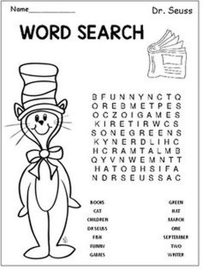 Cat In The Hat Coloring Pages 32