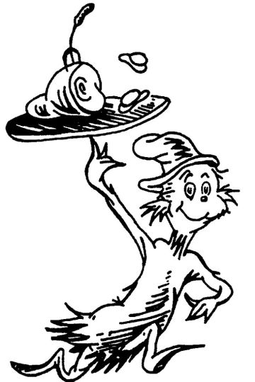 Cat In The Hat Coloring Pages 33