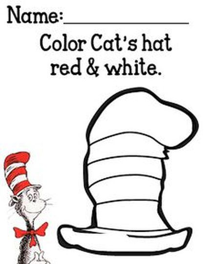 Cat In The Hat Coloring Pages 35