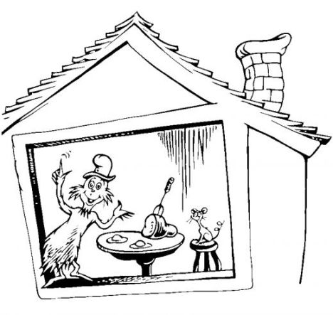 Cat In The Hat Coloring Pages 37