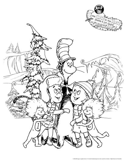 Cat In The Hat Coloring Pages 39