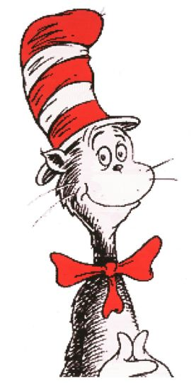 Cat In The Hat Coloring Pages 44