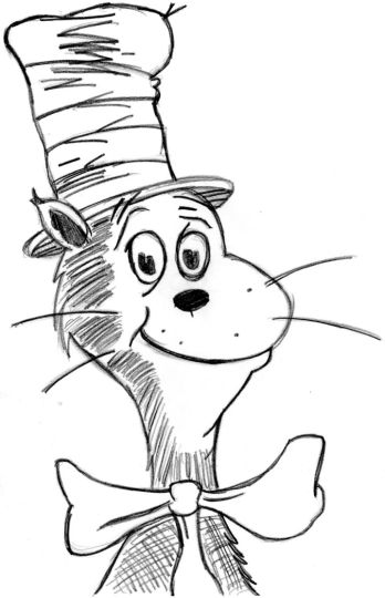 Cat In The Hat Coloring Pages 45