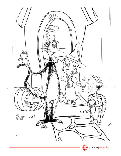 Cat In The Hat Coloring Pages 59