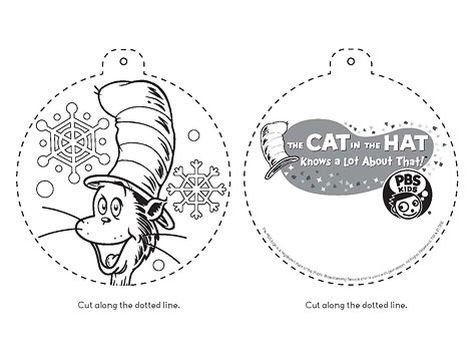 Cat In The Hat Coloring Pages 61